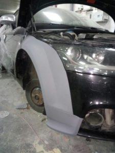 кузовной ремонт ауди в Краснодаре