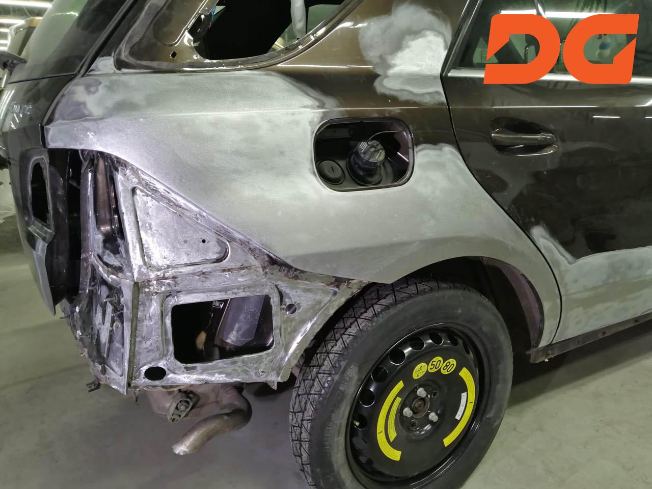 Кузовной ремонт в Тихорецке