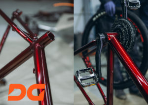 покраска велосипеда мотоцикла